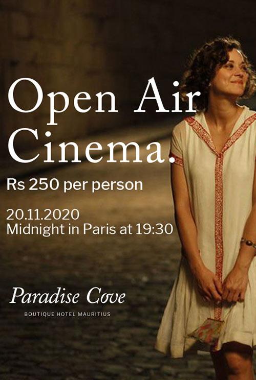Midnight in Paris at Paradise Cove